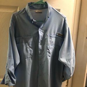 PFG Columbia fishing shirt